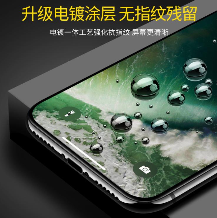 【白菜价】闪魔 iPhone全系列钢化膜*2
