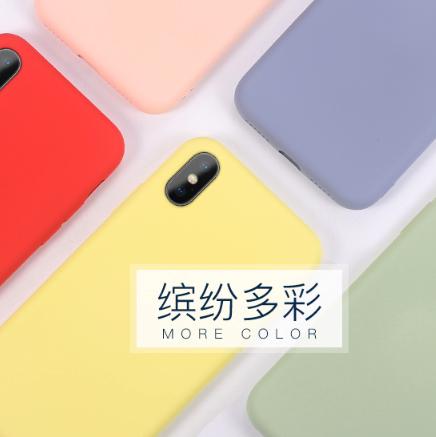 ZCGYLP iPhone 液态硅胶手机壳