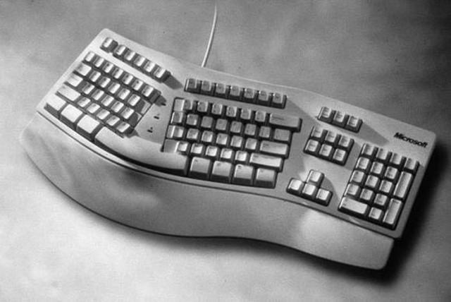 使用微软人体工学键盘是一种怎样的体验?
