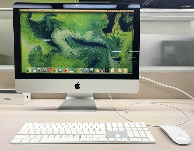 提高效率的神器 苹果 iMac(QA2-001)