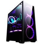 LGJ 八代i3 8100/RX550/GTX1050Ti 4GB/240G固态 DIY组装电脑 台式机