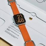 Apple watch官方表带,橙色内地断货了都.