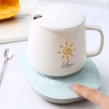 【爆款推荐】暖暖杯 55度加热器 自动恒温暖杯垫