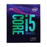 英特尔(Intel)i5-9600K 酷睿六核 盒装CPU处理器 9代CPU 英特尔(Intel)i5-9600K