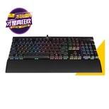 海盗船(USCorsair)Gaming系列 K70 LUX RGB 幻彩背光机戏键盘 黑色 黑色