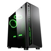 甲骨龙AMD锐龙5 1600六核十二线程/GTX1060独显/DIY台式主机 吃鸡电脑