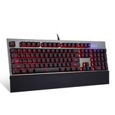 MOTOSPEED/摩豹 CK108 全键无冲RGB背光游戏机械键盘 光轴