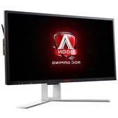 AOC显示器 AG271QX 27英寸 144hz刷新 1ms 2K高清游戏电竞液晶电脑显示器