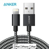 Anker安克 MFi认证 7/6/5s苹果数据线 1.8米尼龙 手机充电器线电源线