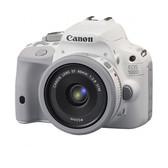 佳能(Canon) EOS 100D 单反套机(EF 40mm f/2.8 STM镜头) 白色