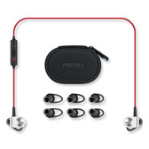 【包邮】魅族(MEIZU)EP51 磁吸入耳式 运动蓝牙线控手机耳机 黑红色