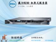 【官方授权旗舰店】戴尔 PowerEdge R230 机架式服务器(Xeon E3-1220 v5/16GB/1TB )