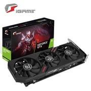 七彩虹 iGame GeForce GTX 1660 Ti Ultra 6G游戏 吃鸡设计游戏显卡