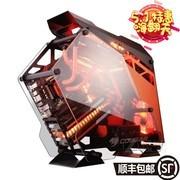 骨伽(COUGAR) 全透明征服者游戏定制 吃鸡 钢化玻璃机箱/360水冷 黑