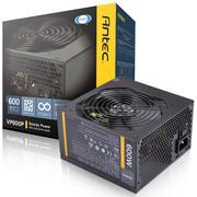 【行货保证限时特惠】安钛克(Antec)额定600W VP 600P 电源(主动式PFC/12CM静音风扇/双组12V输出/电脑电源)