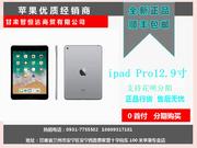 苹果 12.9英寸iPad Pro(64GB/WiFi版可分期付款 低月供 无抵押兰州至高数码电子商城 0931-7755582 大客户专享18609317181