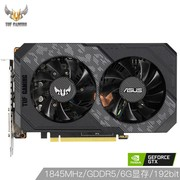 华硕 (ASUS) TUF-GeForce GTX1660-O6G-GAMING OC 530-1845MHz 8002