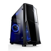 【甲骨龙-角龙540】七代I5/120G SSD固态盘/DIY台式办公组装电脑 台式游戏整机