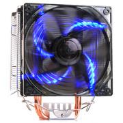 超频三东海X5 CPU散热器(多平台/支持AM4/1151/5热管/PWM温控/12CM静音风扇/附带硅脂)