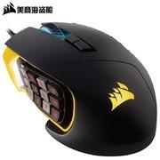海盗船*者Scimitar RGB PRO游戏竞技鼠标17一键宏 类肤手感