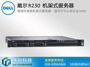 戴尔 PowerEdge R230 机架式服务器(Xeon E3-1220 v5/16GB/1TB )