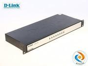 D-Link DKVM-8H+A 8口混接切换器: 8口 USB PS2混接切换器 企业级 1U 行货 厂家售后 包邮,