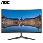 AOC C24B1H 23.6英寸 三代曲面显示器1700R曲率 HDMI 窄边框