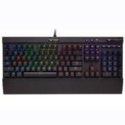 海盗船 K70 RGB机械键盘背光游戏全键无冲樱桃红轴茶轴青轴