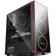 鑫谷光锐PLUS台式机电脑机箱全侧透中塔水冷防尘ATX机箱