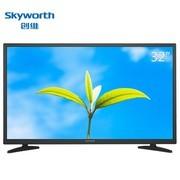 创维  32X3  32英寸 窄边蓝光高清节能平板液晶电视机(黑色)