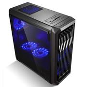 金河田竞技大师 G9 电脑台式机分体式机箱 全侧透游戏ATX大机箱