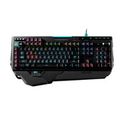 罗技 G910 Orion Spark RGB机械键盘新品顺丰包邮*罗技G910 RGB背光游戏机械键盘超越黑寡妇幻彩版