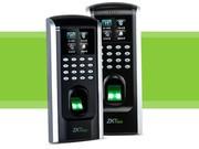指纹考勤门禁一体机公司或 家用小区玻璃门禁控制器 中控智慧门禁考勤一体机F7PLUS