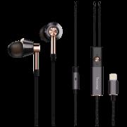 万魔 1MORE E1001L三单元圈铁耳机Lightning接口MFI认证五向键