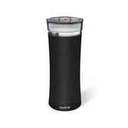 Cloud cup云杯智能水杯便携保温杯 黑色  自动定时提醒喝水不锈钢保