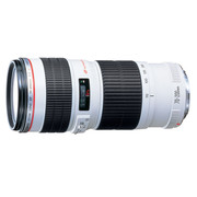 佳能(Canon) EF 70-200mm f/4L USM 远摄长焦变焦镜头(小小白)