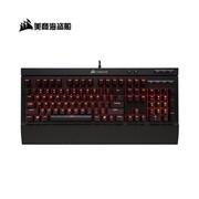 美商海盗船(USCORSAIR)K68机械键盘 LED背光灯 防水防尘 红光 红轴