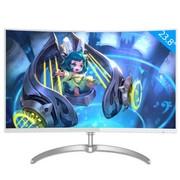 飞利浦248E8QSW 23.6英寸 MVA广视角曲面显示器