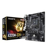 技嘉(GIGABYTE)A320M-S2H 主板 (AMD A320/Socket AM4)