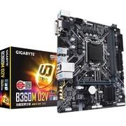 技嘉 B360M D2V 游戏主板 1151支持 i5 8500办公游戏主板1151针