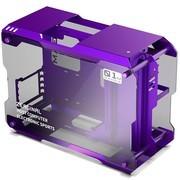 炽果(ZEAGINAL)双侧透全铝钢化玻璃开放式游戏机箱 ZC-01M 紫色