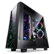 鑫谷(Segotep)开元K3台式游戏电脑机箱支持显卡垂直安装 水冷360
