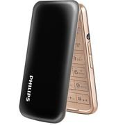 飞利浦(PHILIPS)E255 时尚设计 移动联通2G 双卡双待 翻盖老人手机