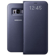 【包邮】三星Galaxy S8/S8+LED智能保护套防摔保护套休眠翻盖原装皮套