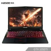 神舟 战神Z7M-KP5SC(i5-8300H/GTX1050Ti 4G/8G/256G+1TB/Win10/15.6英寸1920*1080/红色背光键盘)