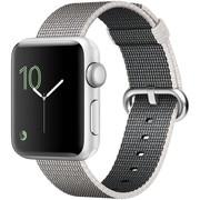 【apple授权专卖】WATCH SerieS2 42mm(PK2)银珍珠尼龙