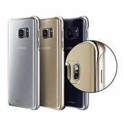 三星 GALAXY S7 Edge Clear Cover正件 原装保护套/后盖式手机壳 适用于三星S7/S7edge G9350 G9300 原装手机壳