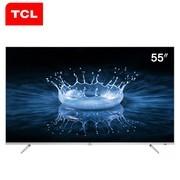 TCL电视 55A860U 55寸4K 32核64位 人工智能超薄网络智能LED液晶电视