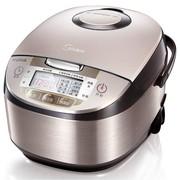 美的电饭煲 拉丝不锈钢机身 立体加热 聚能釜内胆4LMB-WFS4029