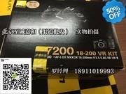 尼康 D7200套机(18-200mm VR II) 尼康d7200 18-200套机 北京实体店现货 销售热线:18911019993 罗阳